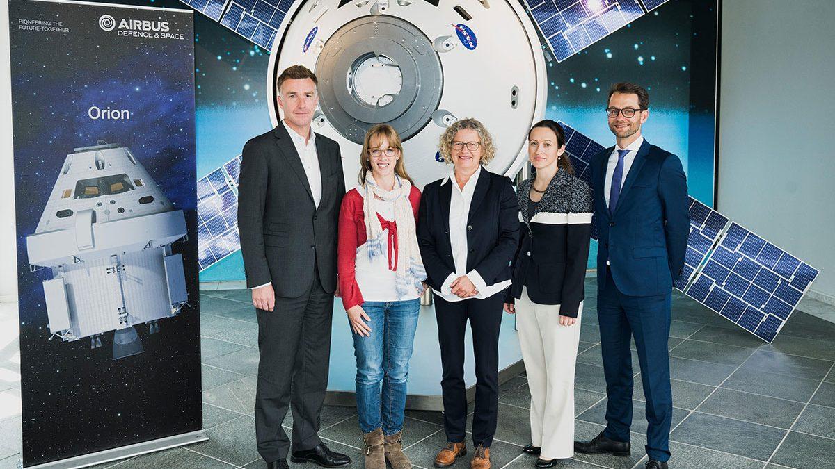 Airbus unterstützt Die Astronautin